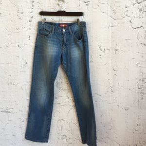 LUCKY BRAND 221 ORIGINAL STRAIGHT 31X32 JEANS